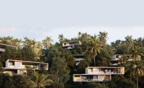 波西米亚风情的墨西哥海滨度假别墅
