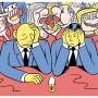 奥斯陆艺术家Sindre Goksøyr 的一组趣味插画作