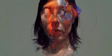 蒙特利爾概念藝術家Jeff Simpson 驚人的肖像畫作品