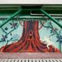 艺术家Gian Barlo的美丽壁画作品,灵感来自中国