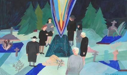 立陶宛插畫家Akvile Magicdust 快樂樸實的繪畫作品相關圖片