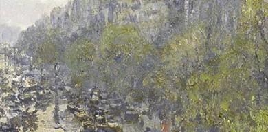 《蒙馬特大街》由法國印象派畫家卡米耶·畢沙羅(Camille Pissarro)著