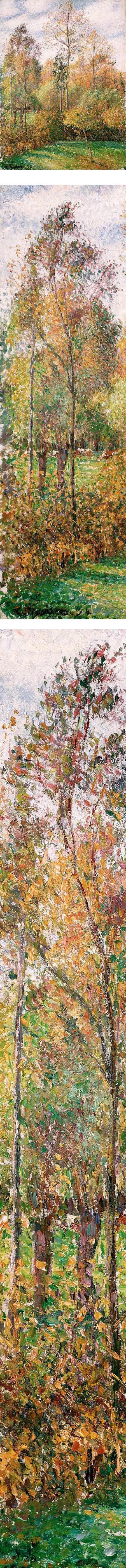 法國印象派大師Camille Pissarro 色的相關圖片