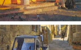 加州艺术家James Crandall 以块状的几何色块呈现最美的作品