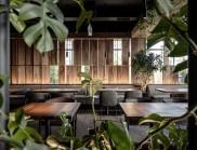 基輔Par Bar 酒吧餐廳的設計,是對工藝和天然材料的致敬