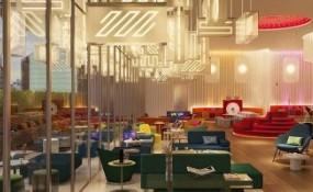 Concrete工作室把明亮的霓虹燈帶到了日本第一家W酒店