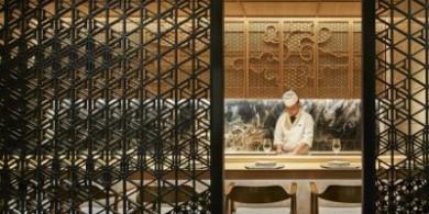 極簡主義美學的日本Kan餐廳室內設計