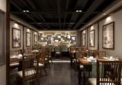 高端中式餐厅设计效果图