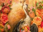 紐約藝術家Martin Wittfooth的第三次展覽展示了19幅油畫作品