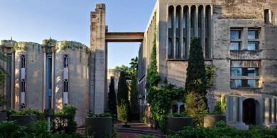 建筑师Ricardo bofill 改造废弃水泥厂,创造了一个仪式化的生活
