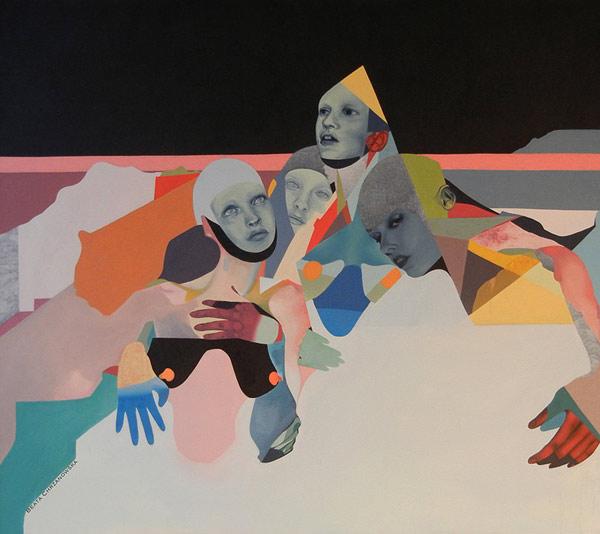 艺术家Beata Chrzanowska的画作的相关图片