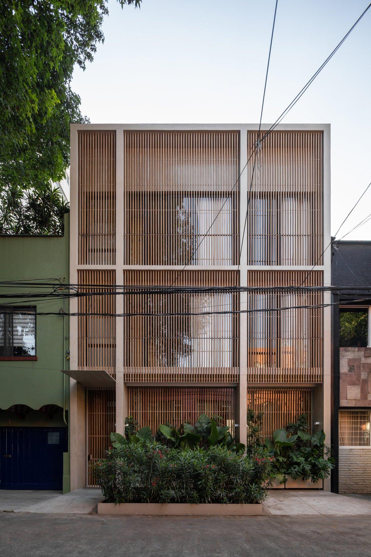 自然、简单,墨西哥建筑住宅项目的相关图片