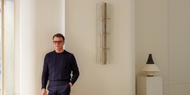 英国设计师Achille Salvagni 在伦敦开设了他的新工作室