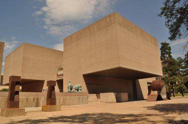 贝聿铭设计的美国开放式埃弗森博物馆的相关图片