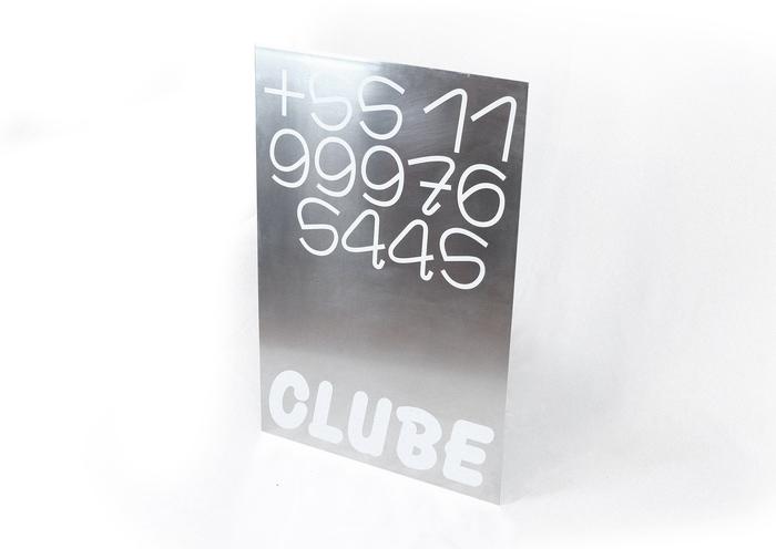 CLUBE 展览海报及卡片设计的相关图片