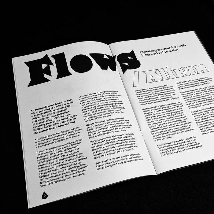多学科艺术家Tomi Heri 展览目录设计的相关图片