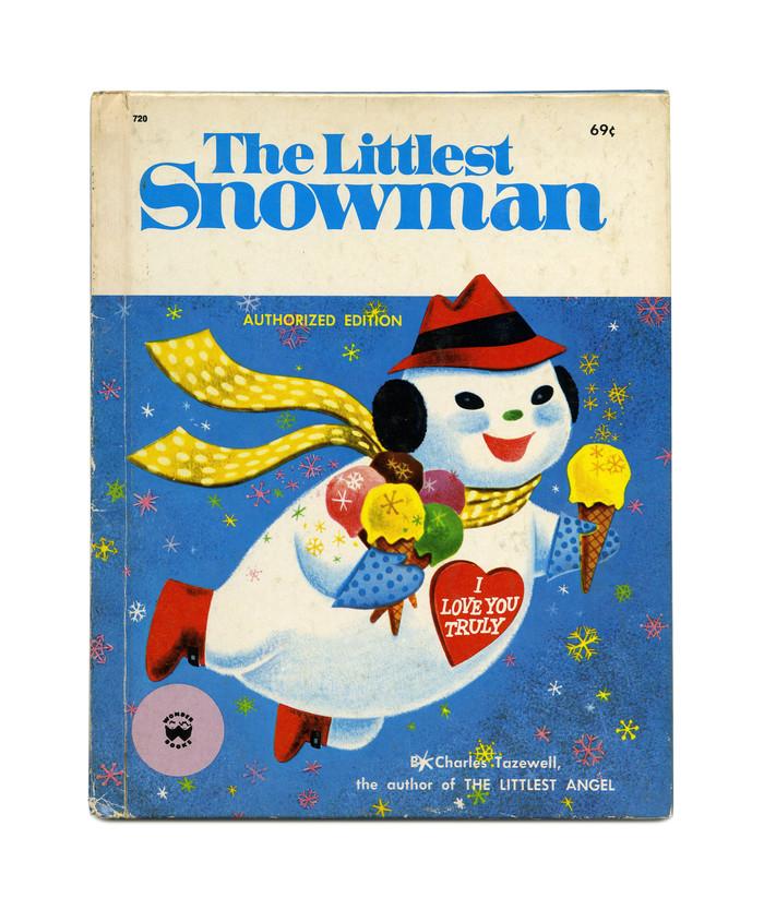 《最小的雪人》作者:Wonder Books的相关图片