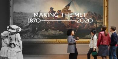 大都會藝術博物館150周年紀念展海報設計
