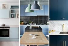 12種藍色調的廚房設計靈感相關圖片