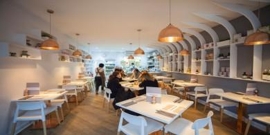 自然又現代的有機餐廳設計