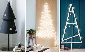 圣誕節裝飾想法- 14 DIY另類現代圣誕樹