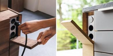 廚房設計理念:隱藏你的電源插座