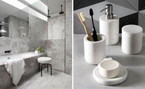 浴室設計理念- 用大理石裝飾您的浴室5種方法