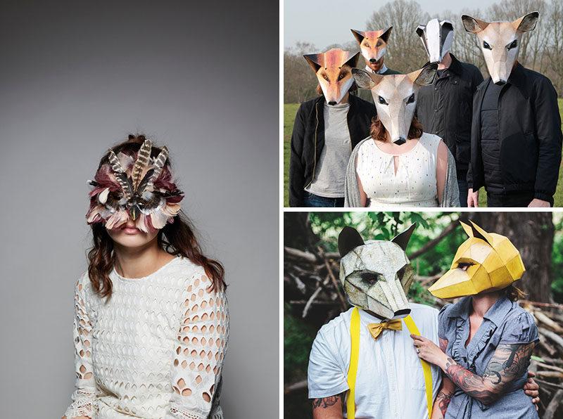 20個當代萬圣節面具設計創意