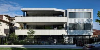 墨爾本平靜寧和的Adela 公寓設計