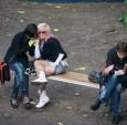 一位摄影师捕捉到了乌克兰公园人与物
