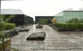 一个娱乐休闲的绿色空间,成都当代美术馆
