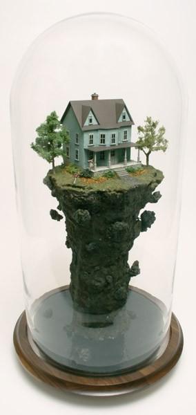 托馬斯·多伊爾(Thomas Doyle)的玻璃瓶藝術