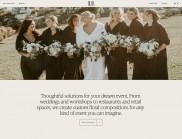 Buds 花卉設計公司創意網站設計欣賞