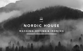 Nordic House 干洗店北歐風品牌形象設計