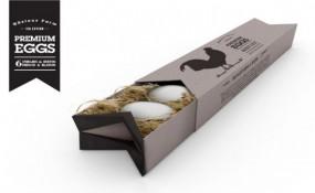 阿根廷藝術家Azul Prado 健康有機的雞蛋包裝設計