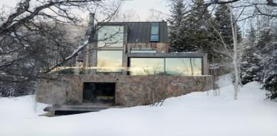 我們喜歡的原始鄉村滑雪小屋!