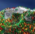 《美丽的乐高:狂野》这是一本探索天然奇迹