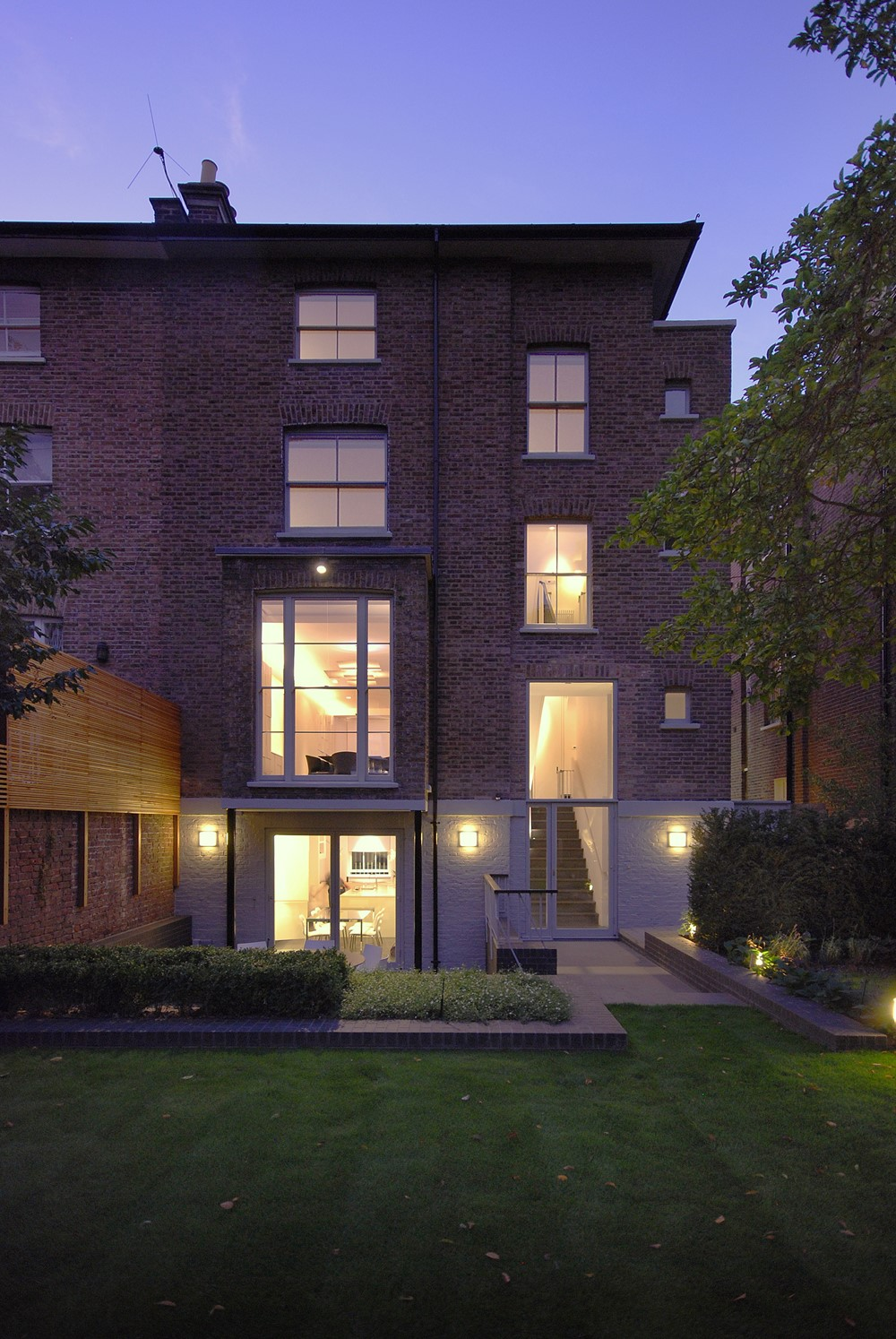 倫敦維多利亞式別墅翻新設計的相關圖片