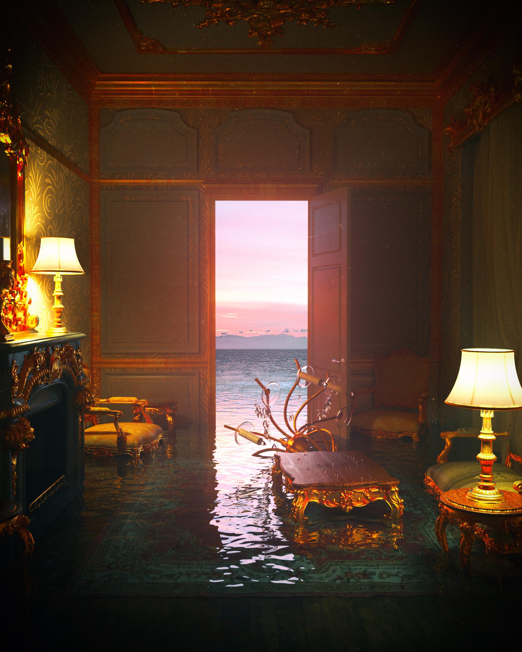 景观摄影的超现实设计创作的相关图片