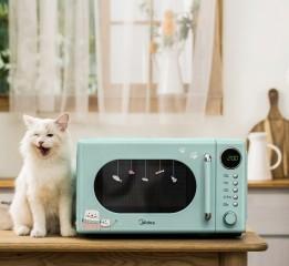 喵喵美的烤箱||撸猫 vico薇