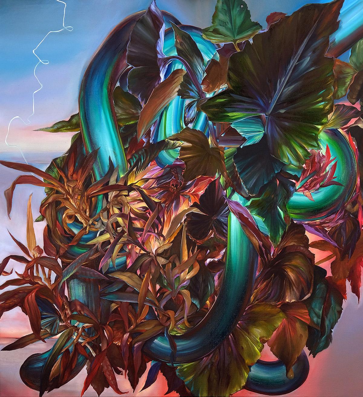 艺术家Karla Marchesi 强烈而丰富多彩的绘画作品欣赏