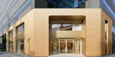 于细节处见匠心,大阪卡地亚商店设计