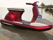 Pierpaolo Lazzarini  重新設計了意大利韋士柏摩托車