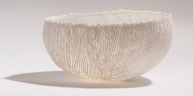 陶藝家Guy Van Leemput 用氣球做的陶瓷碗,獨特而優雅