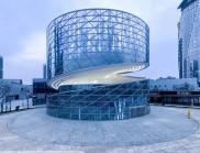 華麗的螺旋建筑:中國紹興紡織中心