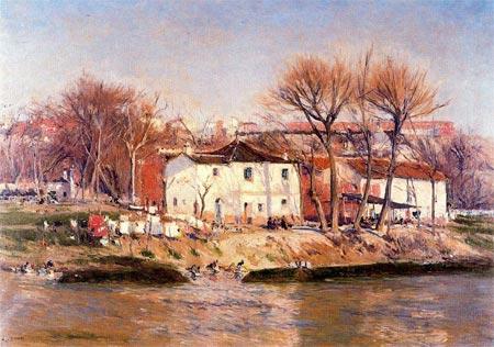 西班牙風景畫家Aureliano de Beruete的相關圖片