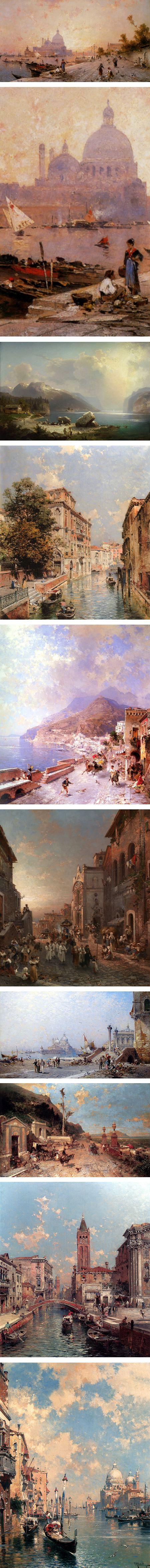 19世紀末奧地利畫家Franz Richard Un的相關圖片