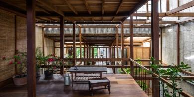 Nishizawa建筑事务轻盈简单的住宅立面设计