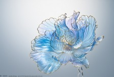 艺术家Sakae花朵形状的发夹相关图片