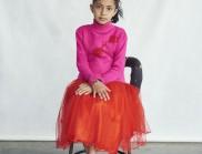 肖恩·亚历山大·杰拉蒂的风格肖像画,描绘了尼泊尔的青年和儿童